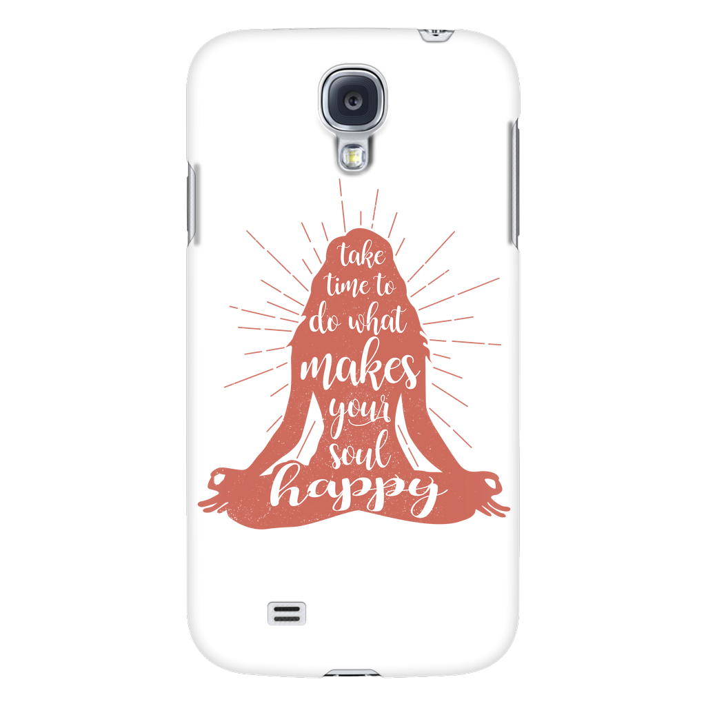 Yoga - Yoga makes me happy - Android Phone Case - TL00893AD