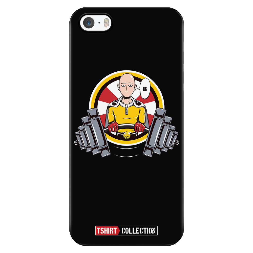 One Punch Saitama OK iPhone phone case - TL00454PC-BLACK