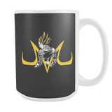 Super Saiyan Majin Vegeta 15oz Coffee Mug - TL00215M5