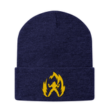 Super Saiyan Vegeta Gold Symbol Snapback Beanie - PF00291BN - The Tshirt Collection - 6