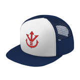 Super Saiyan Red Vegeta Crest Trucker Hat - PF00188TH - The Tshirt Collection - 5