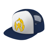 Super Saiyan Vegeta Gold Symbol Trucker Hat - PF00291TH - The Tshirt Collection - 6