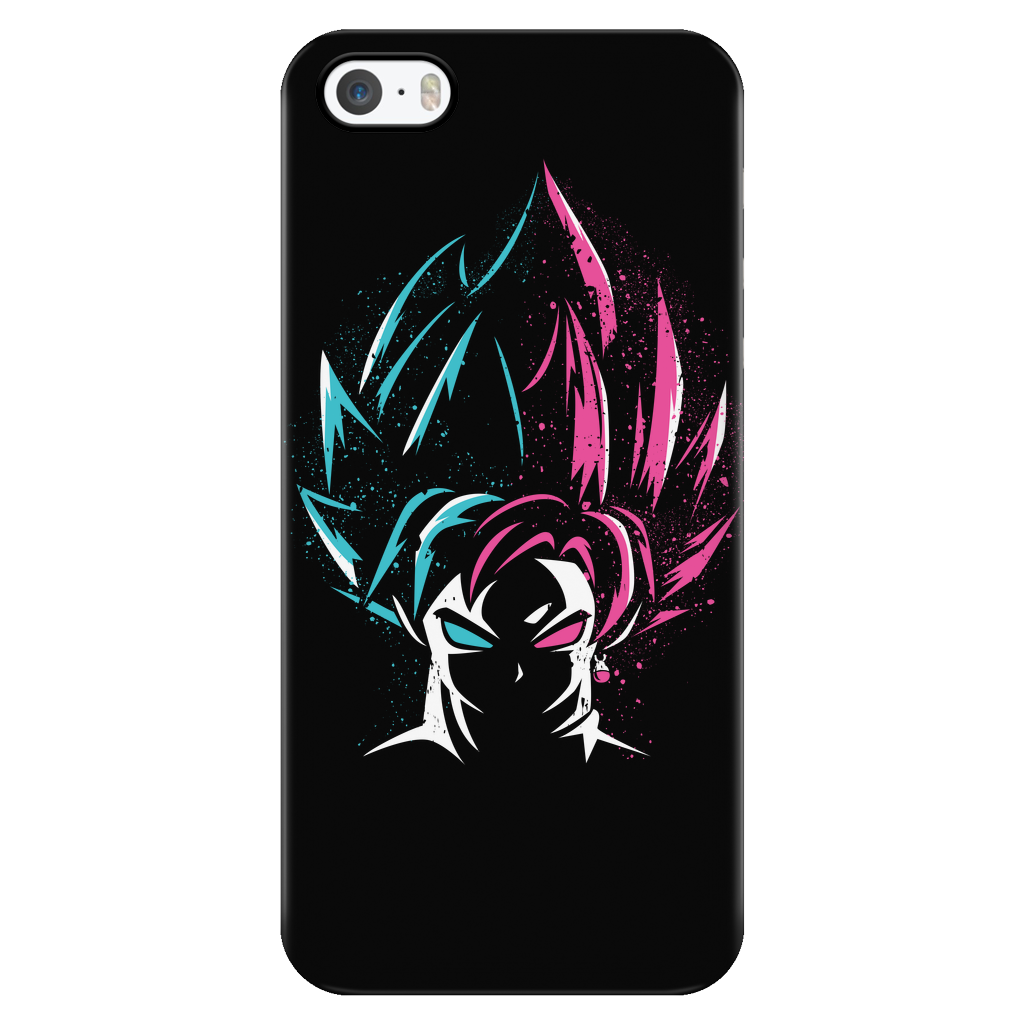 Super Saiyan - Super Saiyan Blue vs Super Saiyan Rose - Iphone Phone Case - TL00829PC
