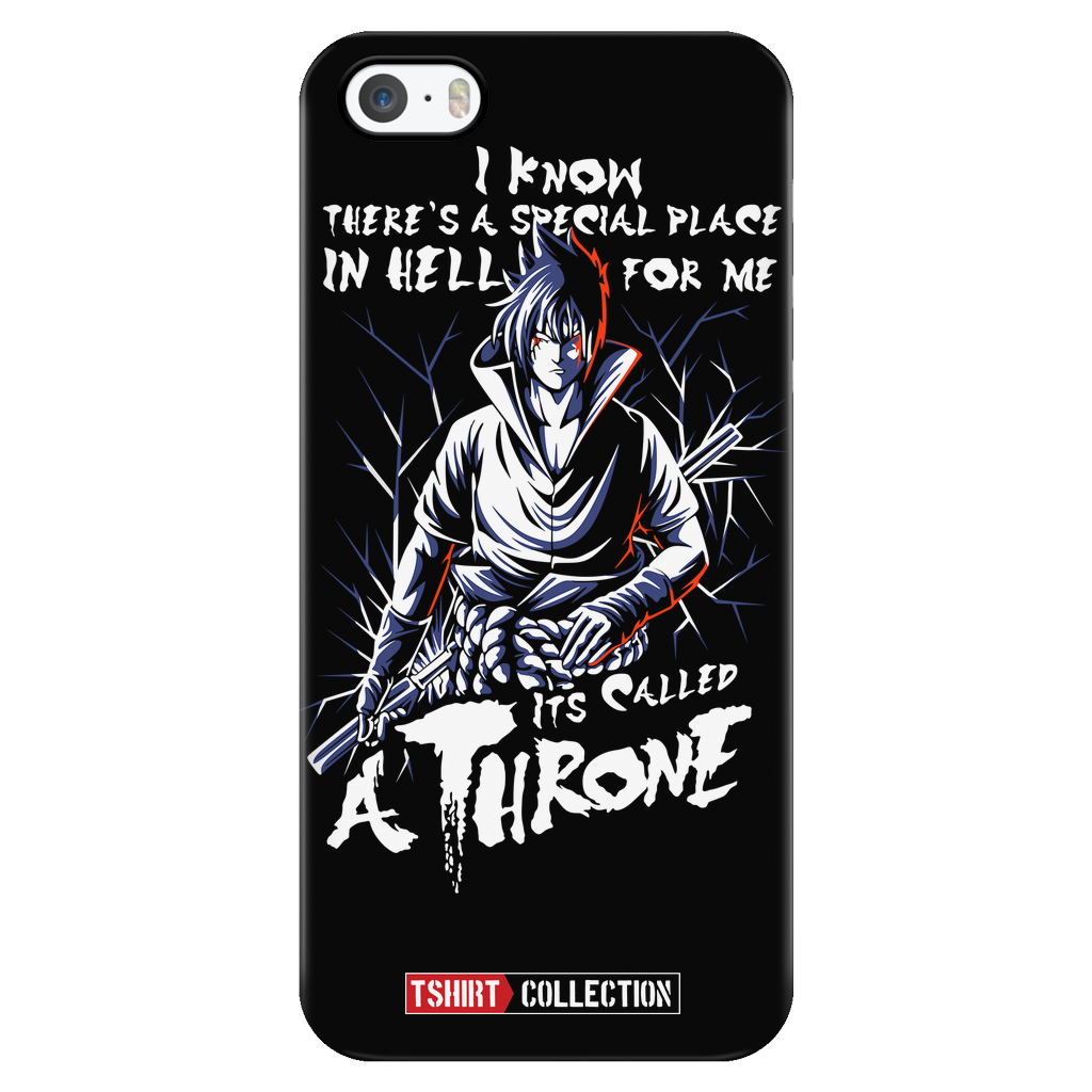 Naruto Sasuke Uchiha Stay on Throne iPhone phone case - TL00263PC