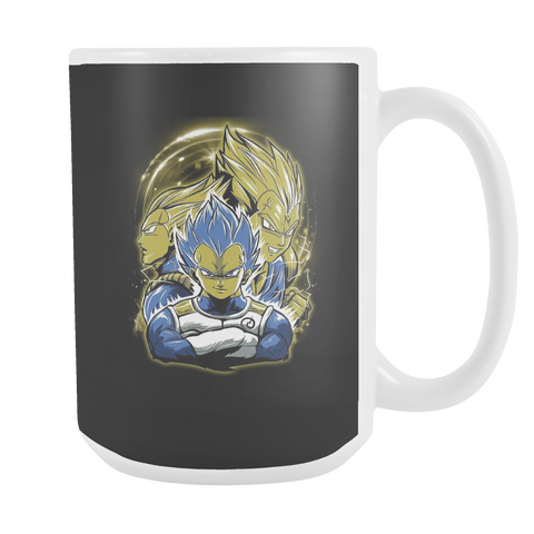 Super Saiyan - Vegeta SSJ Blue - 15oz Coffee Mug - TL01159M5
