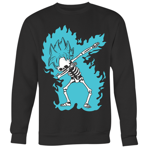 Super Saiyan - Goku God Dab Skeleton X Ray Costume - Unisex Sweatshirt - TL01418SW