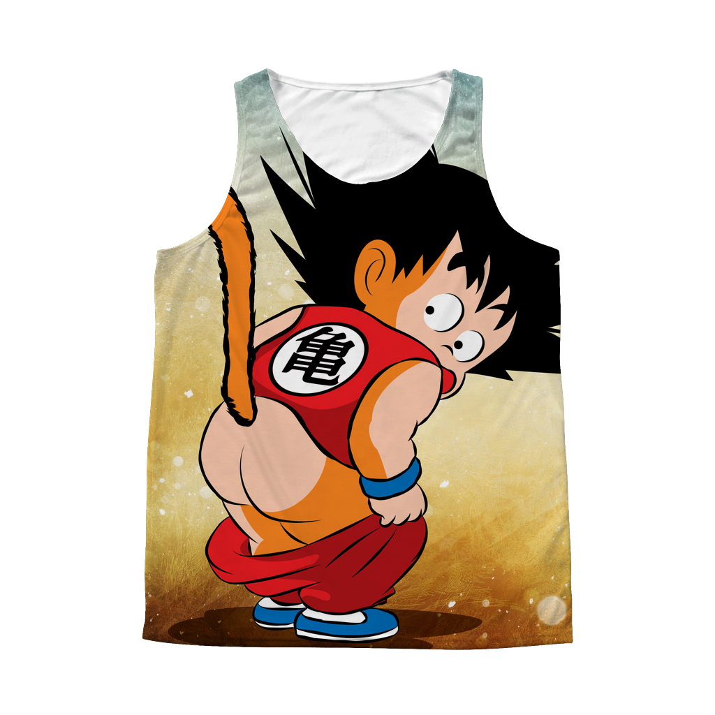 Super Saiyan - Goku Kid - 1 Sided 3D tank top t shirt Tank - TL00981AT