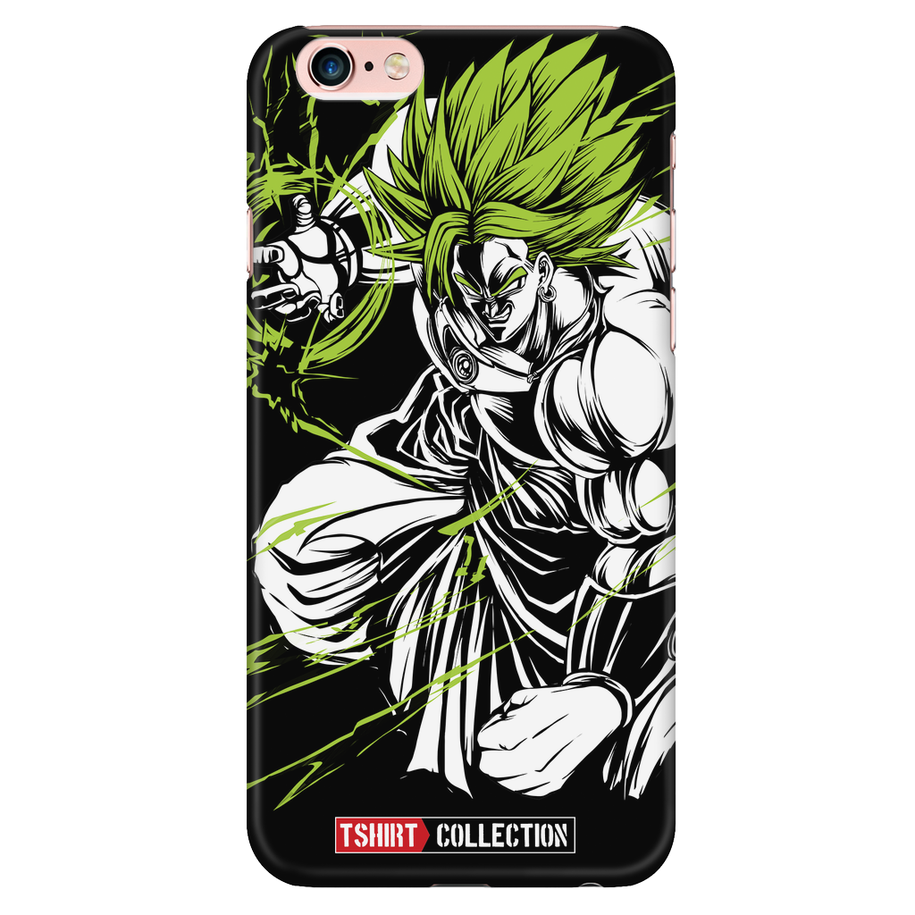 Super Saiyan Broly iPhone 6/6s 6/6s plus Phone Case - TL00008PC-BLACK