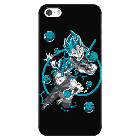 Super Saiyan - SUPER SAIYAN BLUE - Iphone Phone Case - TL01176PC