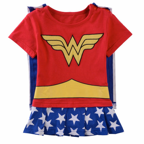 Baby Boys Girls Superhero Romper Infant Costume Funny Jumpsuit Toddler Carnival Party Fancy Dressing Up