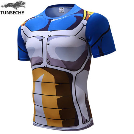 Dragon Ball Z character Goku 3D t shirt women/men cosplay