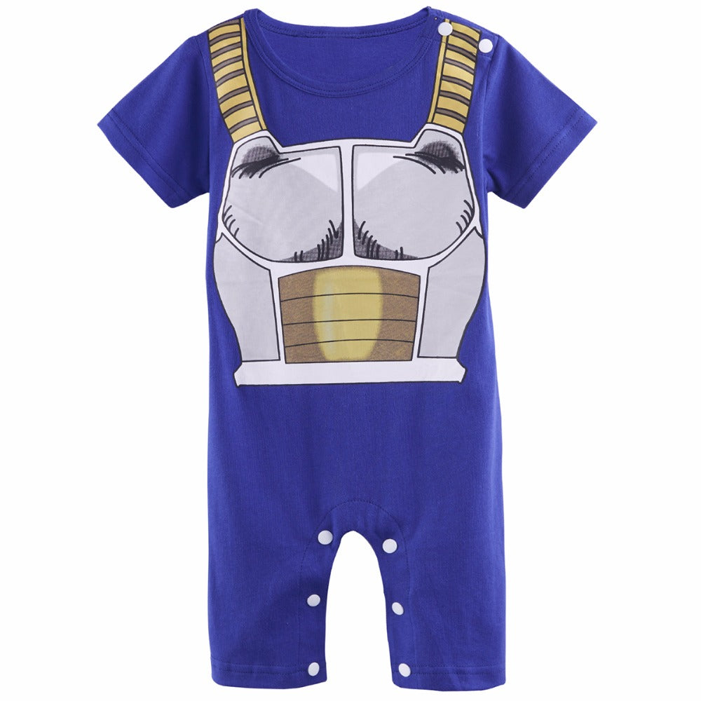 Newborn Baby Boys Dragon Ball Z Vegeta Costume Infant Jumpsuit Playsuits  sc 1 st  The TShirt Collection & Newborn Baby Boys Dragon Ball Z Vegeta Costume Infant Jumpsuit ...