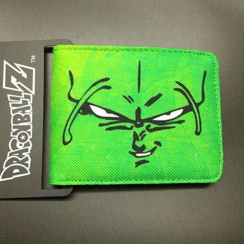 DRAGON BALL character Piccolo canvas man wallets game series Gears of War Saint Seiya famous brand card holder