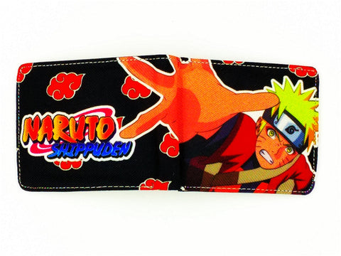 Naruto canvas man wallets game series Gears of War Saint Seiya famous brand card holder