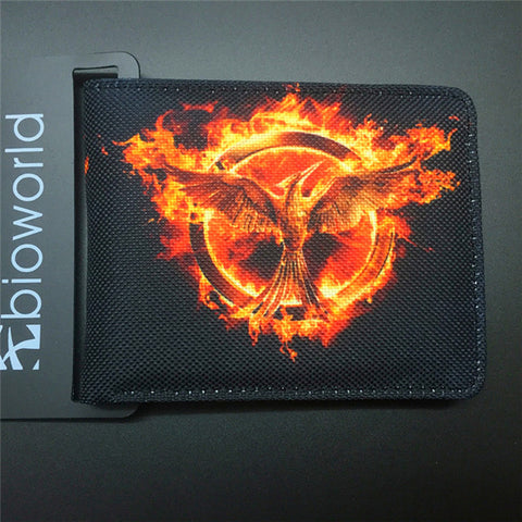 DRAGON BALL character canvas man wallets game series Gears of War Saint Seiya famous brand card holder