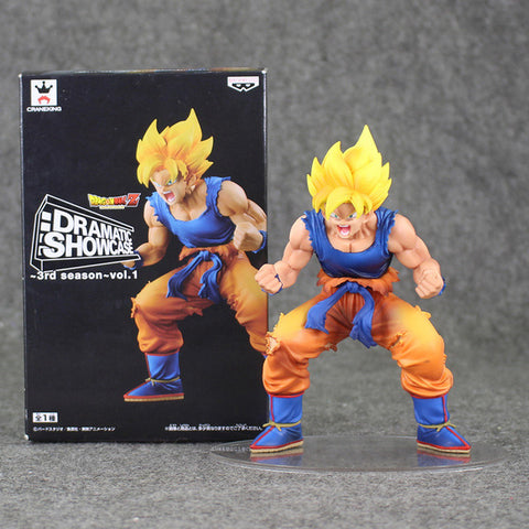 Dragon Ball Z Dramatic Showcase Figure Gohan Cell Goku Vegeta Trunks Frieza DBZ Collectible Model Toys