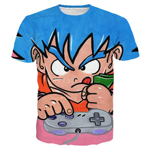 Dragon Ball Super Z 3D Print T-shirt Goku Super Saiyan Tshirt Casual Japanese Popular Anime t shirt Men/Women Tee