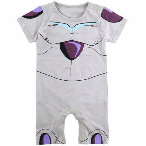 Baby Boy Frieza Costume Romper Cute Infant Playsuit