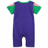 Baby Boy Piccolo Costume Romper Cute Vegeta Cosplay Infant Jumpsuit