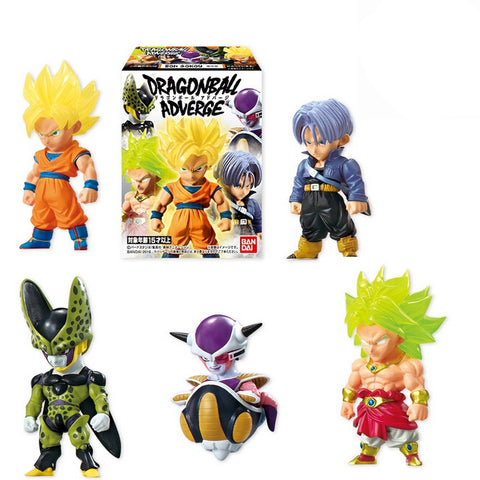Dragon Ball Adverge Part 1 Action Figure Toys - Son Gokou,Cell,Freeza,Trunks,Broly - Full set 100% Original