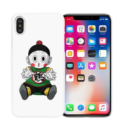 Dragon Ball z super Goku Hard White Phone Case Cover Coque Shell for iPhone X 6 6S 7 8 Plus 5 5S SE 4 4S 5C
