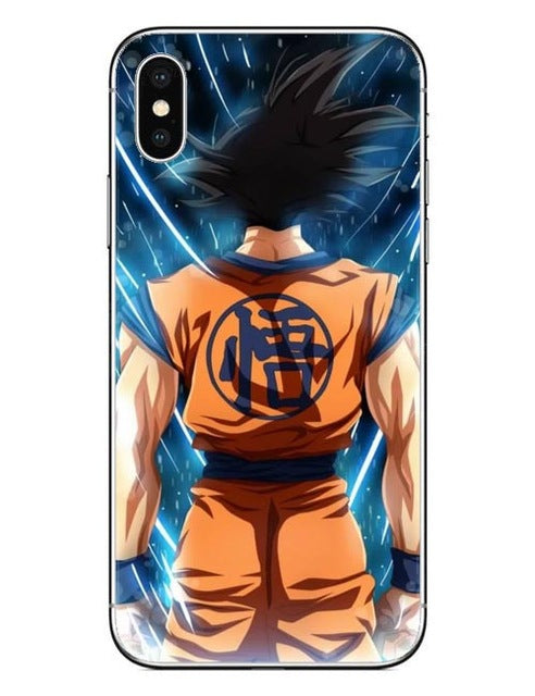 wholesale dealer 9ced4 eb019 Dragon Ball DragonBall z Hard Phone Case For iPhone X 10 Cover for iPhone 5  5S SE 6 6S Plus 7 7Plus 8 8Plus