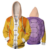 Master Roshi Zipper Hooded Super Saiyan Hoodies