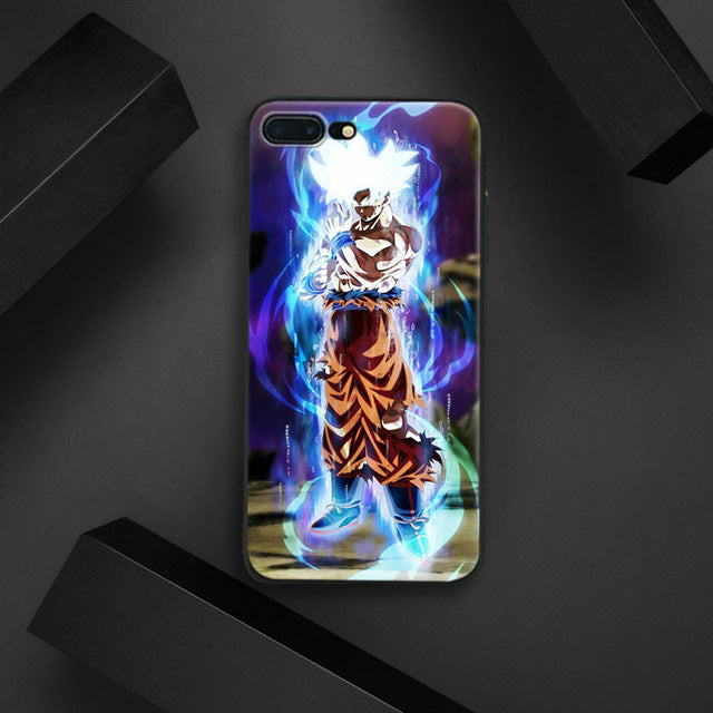 newest 3c8cb 24ae7 Dragon Ball Super Goku ULTRA INSTINCT Tpu Soft Silicone Phone Case Cover  Shell For Apple IPhone 5 5s SE 6 6s 7 8 Plus X 10