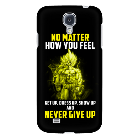 Super Saiyan - Goku Never give up - Android Phone Case - TL01068AD