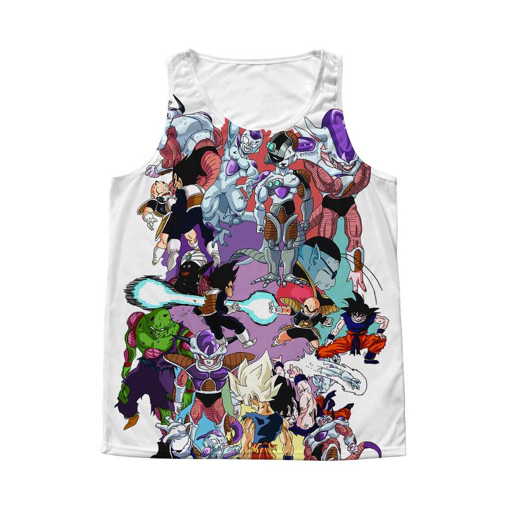 Super Saiyan Frieza 1 Sided 3D tank top t shirt Tank - TL00273AT