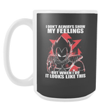 Super Saiyan - Vegeta attitude - 15oz Coffee Mug - TL00980M5