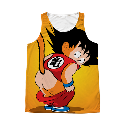 Super Saiyan - Goku Kid - 1 Sided 3D tank top t shirt Tank - TL00982AT