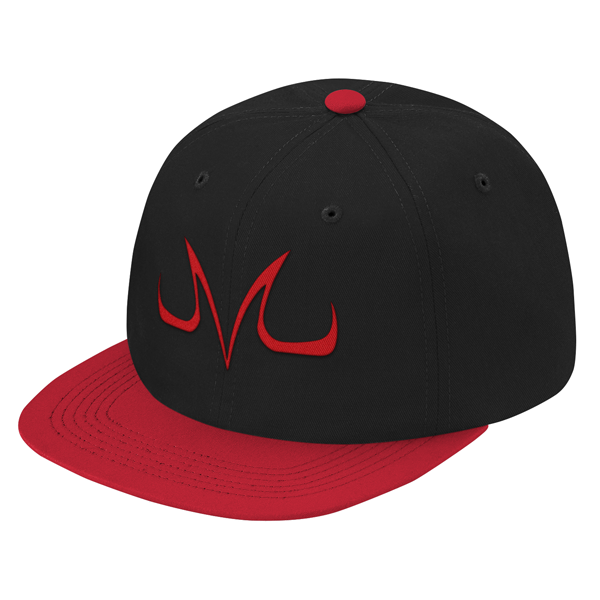 Super Saiyan Majin Vegeta Symbol Snapback - PF00186SB - The Tshirt Collection - 1