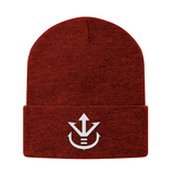 Super Saiyan Vegeta Crest Beanie White - PF00198BN - The Tshirt Collection - 5