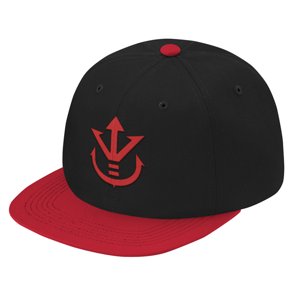 Super Saiyan Red Vegeta Crest Snapback - PF00188SB - The Tshirt Collection - 1