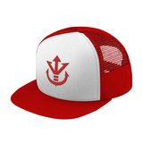 Super Saiyan Red Vegeta Crest Trucker Hat - PF00188TH - The Tshirt Collection - 6
