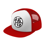 Super Saiyan Goku Symbol Black and White Snapback - PF00182TH - The Tshirt Collection - 7