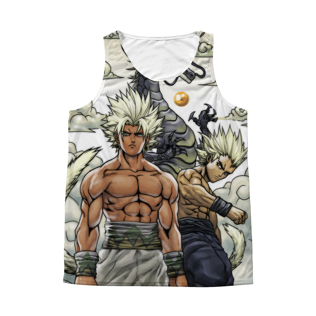 Super Saiyan Goku Vegeta 1 Sided 3D tank top t shirt Tank - TL00254AT