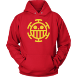 One Piece - HEART PIRATE - Unisex Hoodie T Shirt - TL01493HO