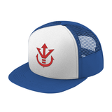 Super Saiyan Red Vegeta Crest Trucker Hat - PF00188TH - The Tshirt Collection - 7