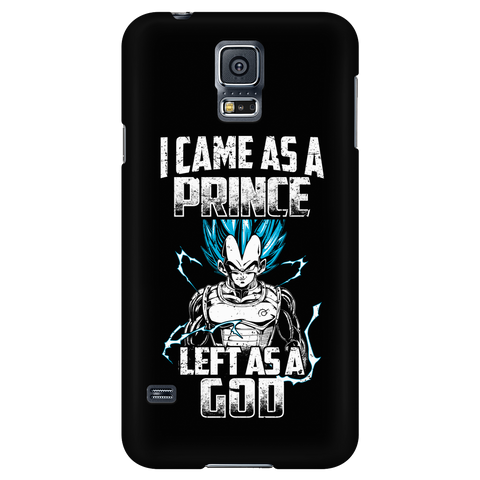 Super Saiyan - Vegeta God I Came As A Prince Left AS A God - Android Phone Case - TL01273AD