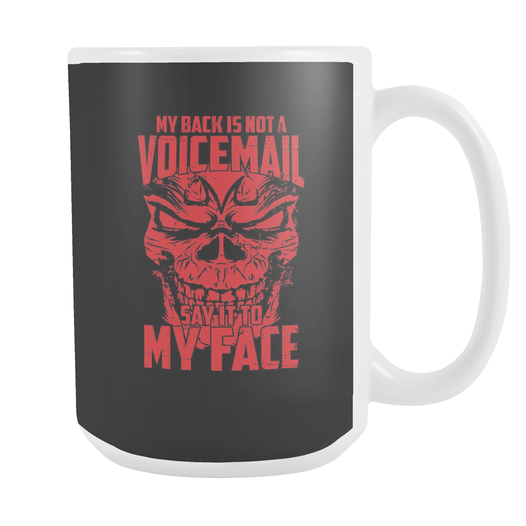 Super Saiyan Majin Vegeta My Back is not a Voicemail 15oz Coffee Mug - TL00435M5