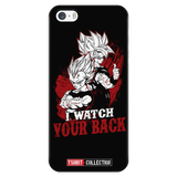Super Saiyan Goku and Vegeta Watch Back iPhone 5, 5s, 6, 6s, 6 plus, 6s plus phone case - TL00031PC-BLACK