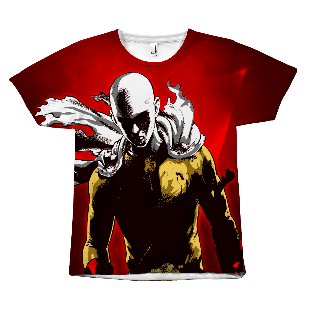 One Punch Man - Saitama - All Over Print T Shirt - TL00928AO