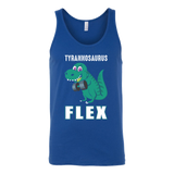Dinosaur - Tyrannosaurus Flex - Unisex Tank Top T Shirt - TL00848TT - The TShirt Collection