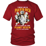 Super Saiyan - Puerto Rico - Men Short Sleeve T Shirt - TL00066SS