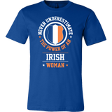 Family - Never Underestimate The Power Of An Irish Woman - Men Short Sleeve T Shirt - TL00783SS