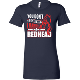 Hobbies - you dont scare me i married a redhead 2 - women short sleeve t shirt - TL00837WS