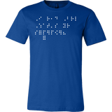 I Read Braille What's Your Superpower Men Short Sleeve T Shirt - TL00690SS
