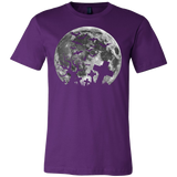 Halloween - halloween moon - Men Short Sleeve T Shirt - TL00708SS